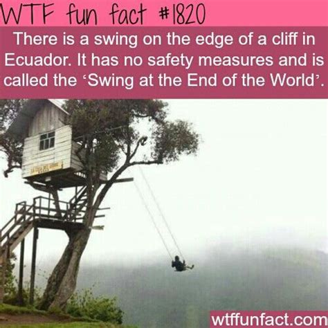 the swing at the end of the world pin by joey johnson on interesting facts pinterest