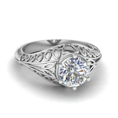 Eheringe Filigran by Edwardian Filigree Engagement Ring Fascinating Diamonds