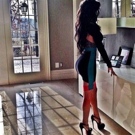 high heels dress black hair and that amazing skirt makeup
