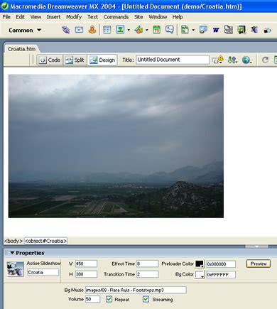 xml tutorial dreamweaver active slideshow online help articles dmxzone com