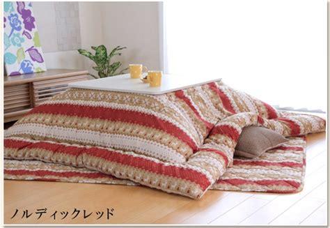 kotatsu futon set fluffy kotatsu futon mat set for 75 80cm table ebay