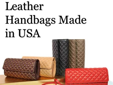 Handmade Leather Bags Made In Usa - leather handbags made in usa