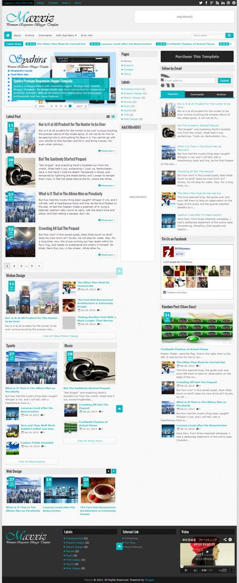 templates blogger premium free maxxiz responsive premium blogger template blogger