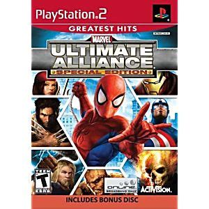 Bd Ps3 Kaset Marvel Ultimate Alliance marvel ultimate alliance special edition playstation 2