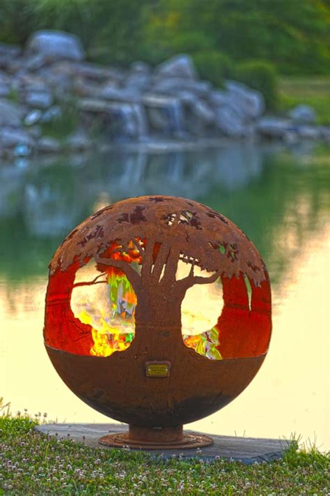 tree of life fire pit sphere the fire pit gallery the