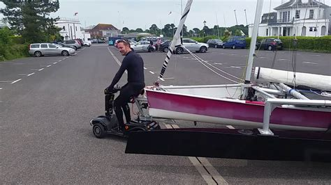 electric boat mover electric boat mover test youtube