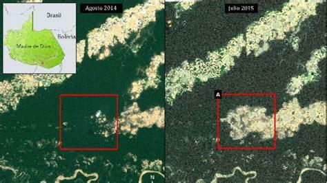 imagenes satelitales bosques la impresionante deforestaci 243 n en la amazon 237 a en per 250