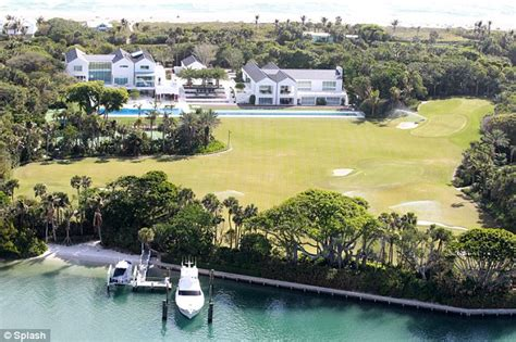 tiger woods house tiger woods 60m florida mansion with running track and