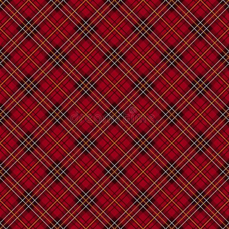 vector plaid pattern free red tartan check background stock vector illustration