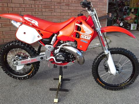 cr fir honda cr500 1989 vintage restoration