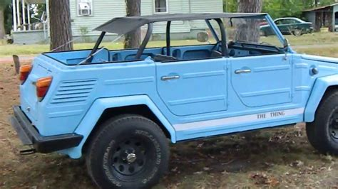 volkswagen thing for sale 1973 vw thing 4 sale 16 500 obo taking offers youtube