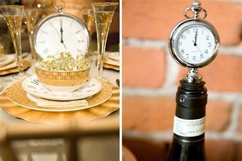 themes year clock new year s eve wedding ideas