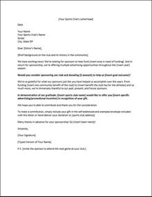 Sponsorship Letter For New Year Sponsorship Letters Write Great Proposals With 12 Templates