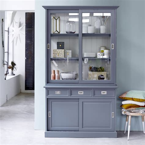 Type Of Paint For Kitchen Cabinets by Vaisselier En Acajou Vente De Vaisseliers Eden Chez Tikamoon