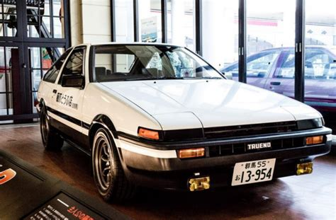 Wheels Black Initial D initial d toyota corolla gt coup 233 ae86 on display in