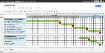 4 project timeline excel templates excel xlts
