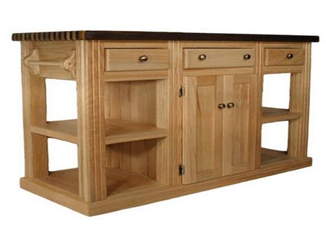 kitchen island bases why choosing unfinished kitchen island with optional finishing kit