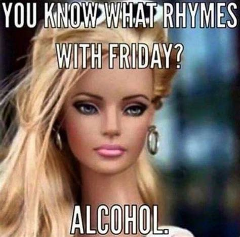 Friday Adult Memes - you know what rhymes with friday meme go fun yourself