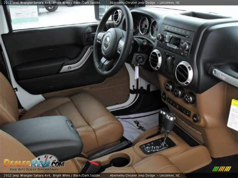 black saddle interior 2012 jeep wrangler 4x4