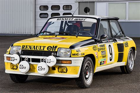 rally legend ragnotti brings monte winning renault 5 turbo