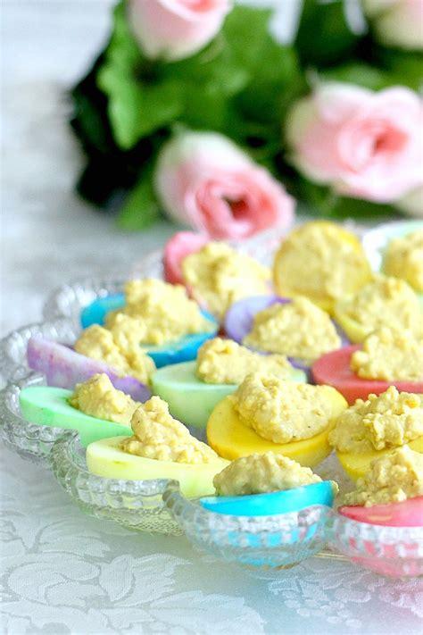 colored deviled eggs for easter colored deviled eggs for easter grateful prayer