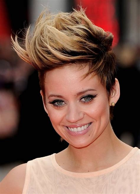 pictures womens hairstyles long on top short on sides 19 short hair with long bangs hairstyles tips to look