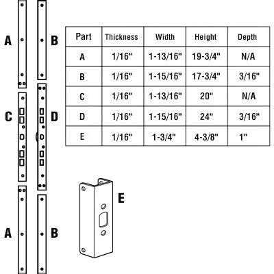Exterior Door Thickness Exterior Door Thickness Captiva Wood Doors Door Types Glass Panel Combination And More