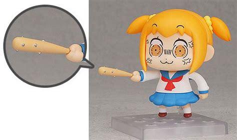 Nendoroid Popuko Pipimi Pop Team Epic Baseball Bat Bonus buy pvc figures pop team epic pvc figure set nendoroid
