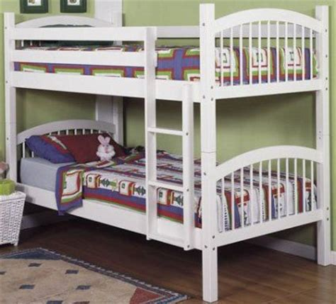 Linon Bunk Bed Linon 9016nwht A Kd U Bunk Bed White Strong Pine Construction And High Quality Components