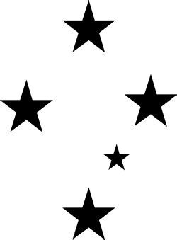 southern star tattoo best 20 southern cross tattoos ideas on