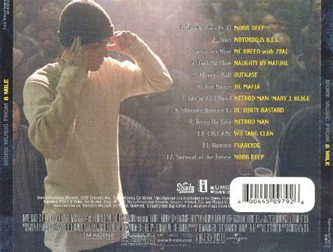 song 8 mile more music from 8 mile eminem songs reviews credits