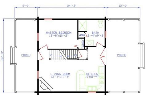 2 bedroom log cabin plans plan 154 00007 2 bedroom 1 bath log cabin plan