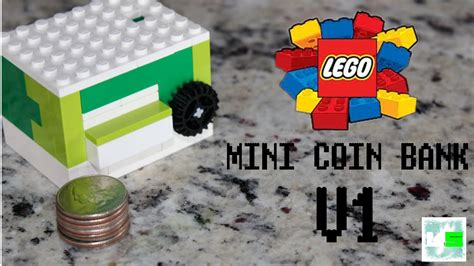 lego bank tutorial mini lego coin bank v1 tutorial link in description