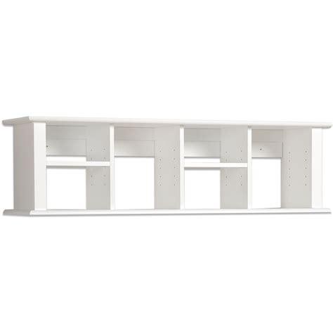 wall mounted desk hutch winslow white wall mounted desk hutch ebay