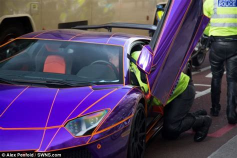 glow in the paint qatar like lamborghini that glows in the is seized