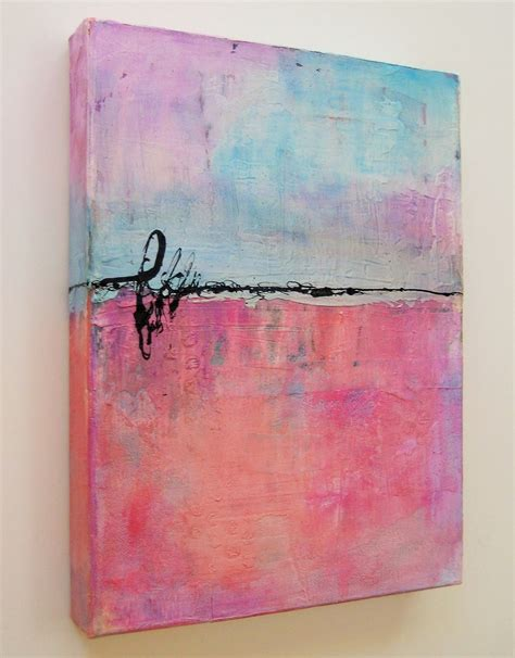 acrylic paint onto a canvas then submerge into water by debbie davis cotton was created on a canvas