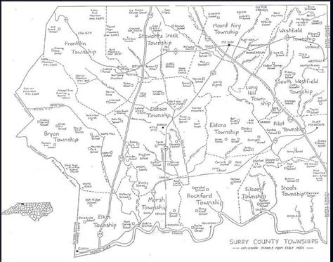maps surry county genealogy association