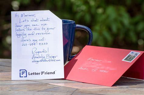 Customer Prospecting Letter send armor piercing handwritten letters from salesforce