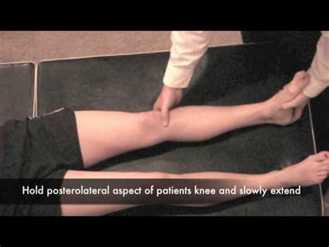 external test external rotation recurvatum test 1 leg cr