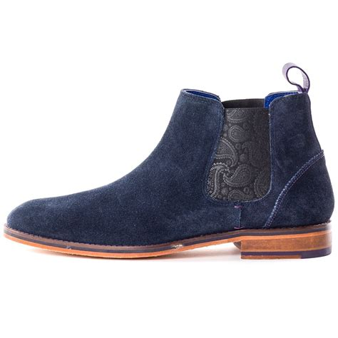 ted baker boots mens ted baker camroon 2 mens boots in blue