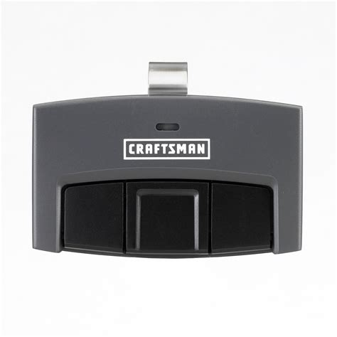 How To Program Craftsman Garage Door Opener Remote by Craftsman Garage Door Opener 3 Function Visor Remote