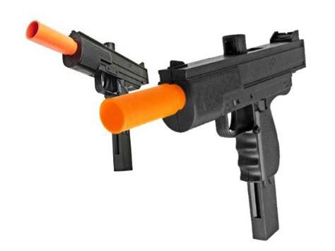Airsoft Gun M36 bbtac bbtac m36 x2 dual smg s 250 fps airsoft gun 2 pack sporting goods outdoor