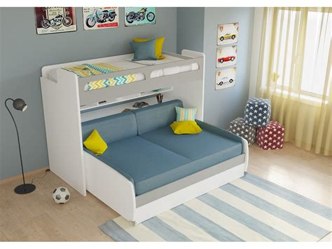 Xl Bunk Bed With Desk by Bunk Bed Xl Sofa Bed Desk And Trundle Bel
