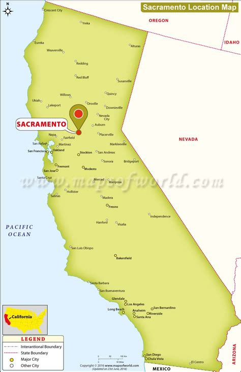 sacramento ca map where is sacramento located in california usa