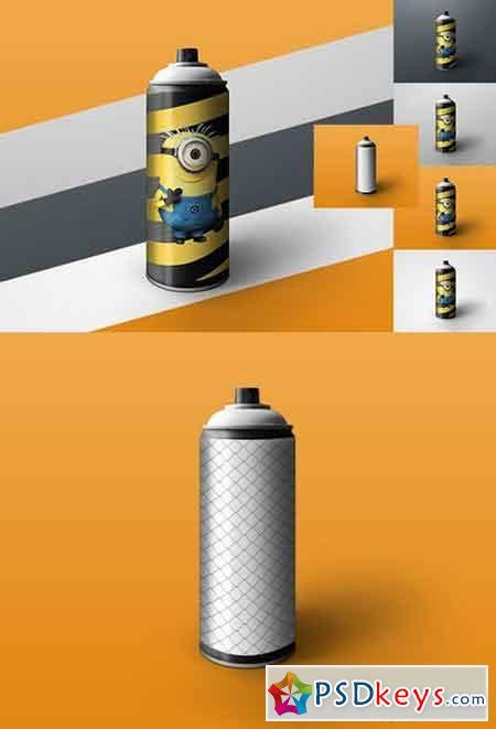 spray paint mockup spray 187 free photoshop vector stock image via