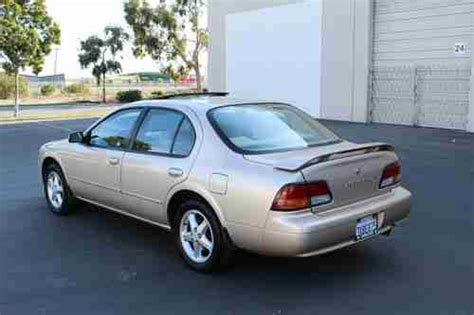 how to sell used cars 1997 nissan maxima transmission control sell used 1997 nissan maxima gxe sedan mint condition one owner car in san