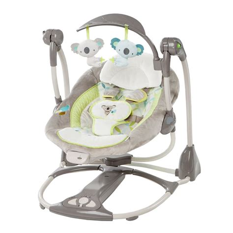 swinging baby bouncer ingenuity convertme swing 2 seat vibrating baby swing