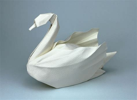 Japanese Origami Swan - best 25 origami swan ideas on origami paper