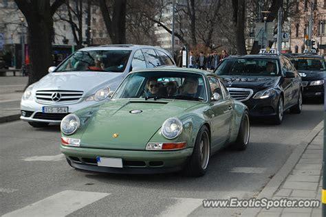 Porsche Sverige by Porsche 911 Spotted In Stockholm Sweden On 04 02 2017