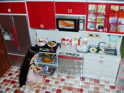 Miniatur Hello Kitchen Set miniature modern comfort kitchen set rement like 4 blythe